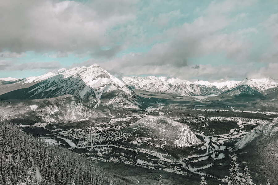 Banff winter activities