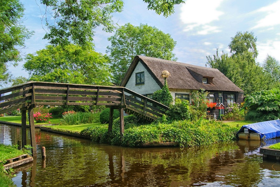 Canals of Giethoorn