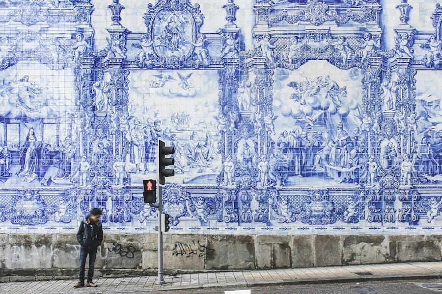 Tiles in Porto