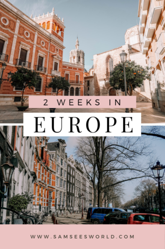 2 weeks in Europe pin