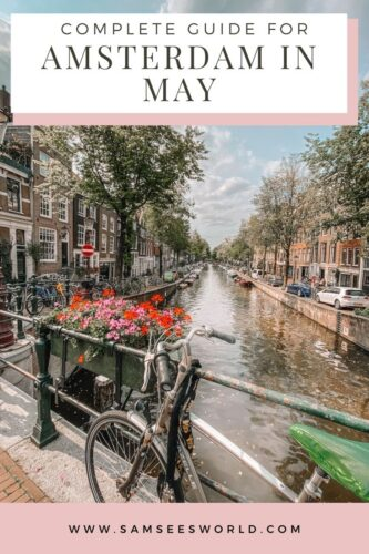 Amsterdam in May