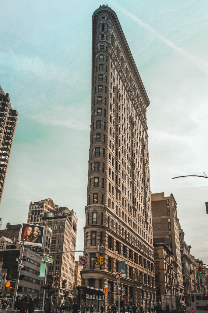 Triangular building in NYC
