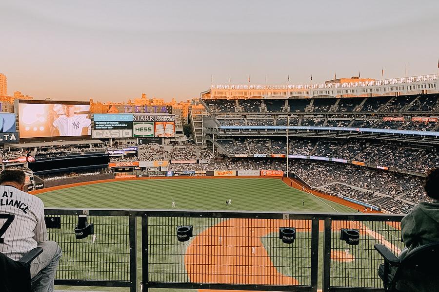 Yankees stadium Baseball match