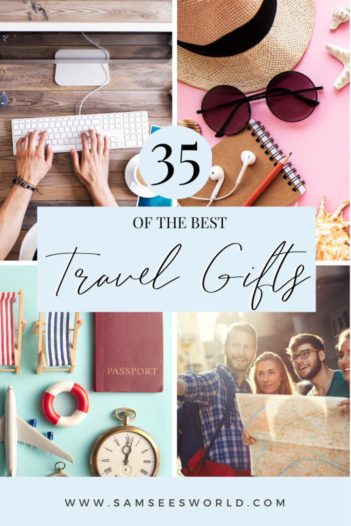Best Gifts for travel lovers pin