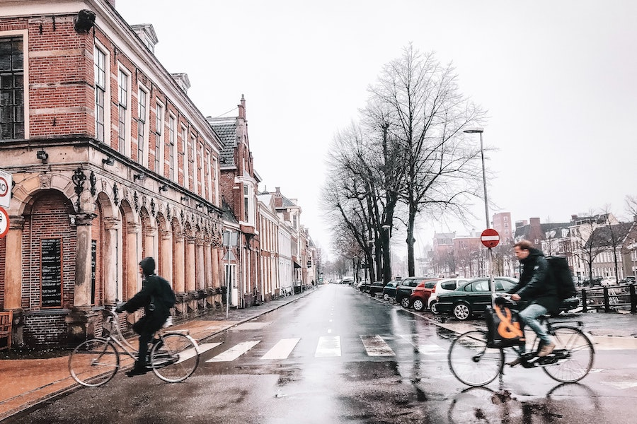 Things to do in Groningen - bikes in the city