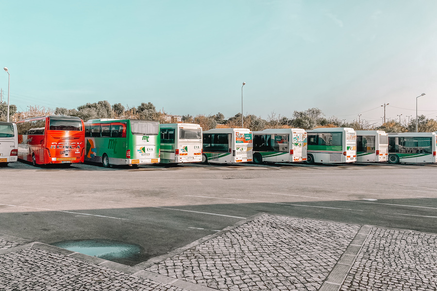 how to get from Albufeira to Lagos busses