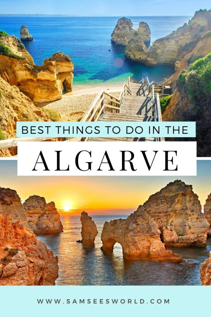 things to do in the algarve pin