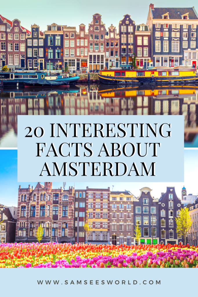 facts about amsterdam pin
