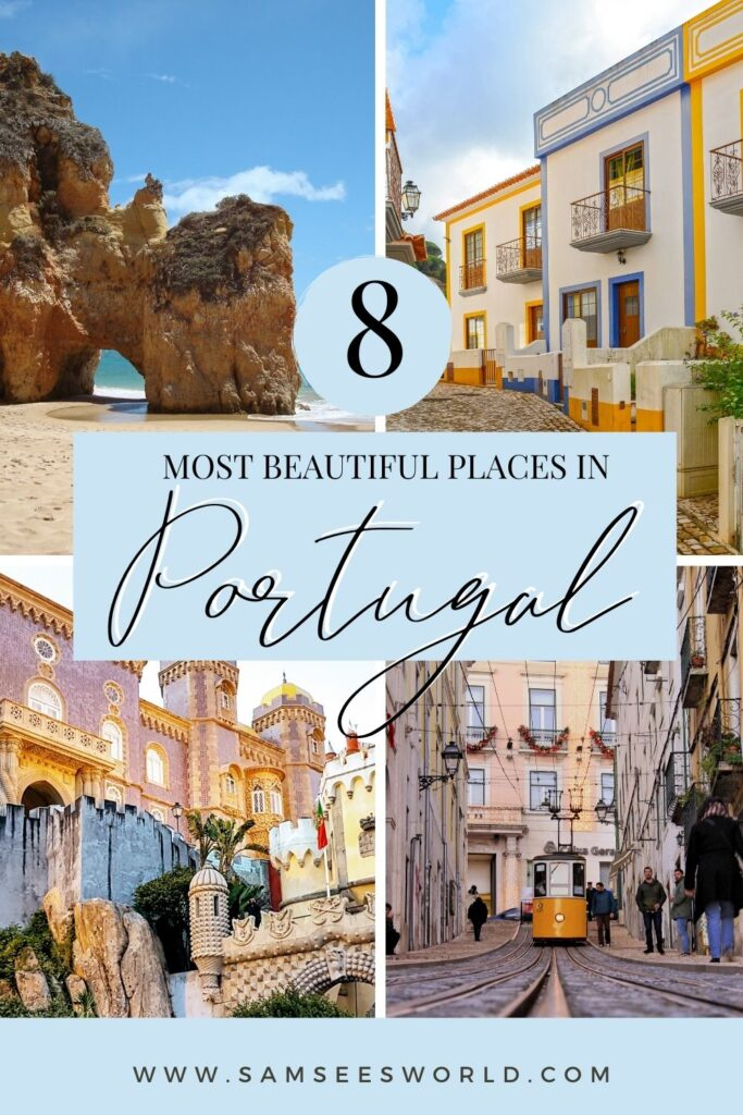 Most Beautiful Places in Portugal pin