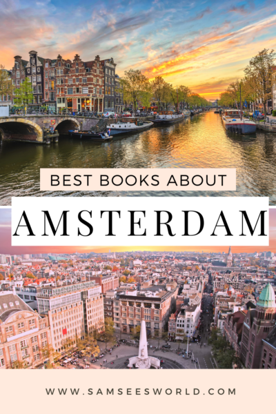 Best books about amsterdam pin