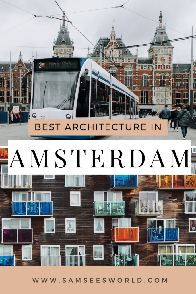 architecture in Amsterdam pin