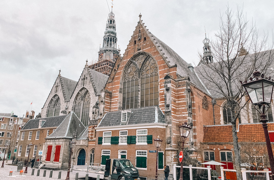 Old church in Amsterdam