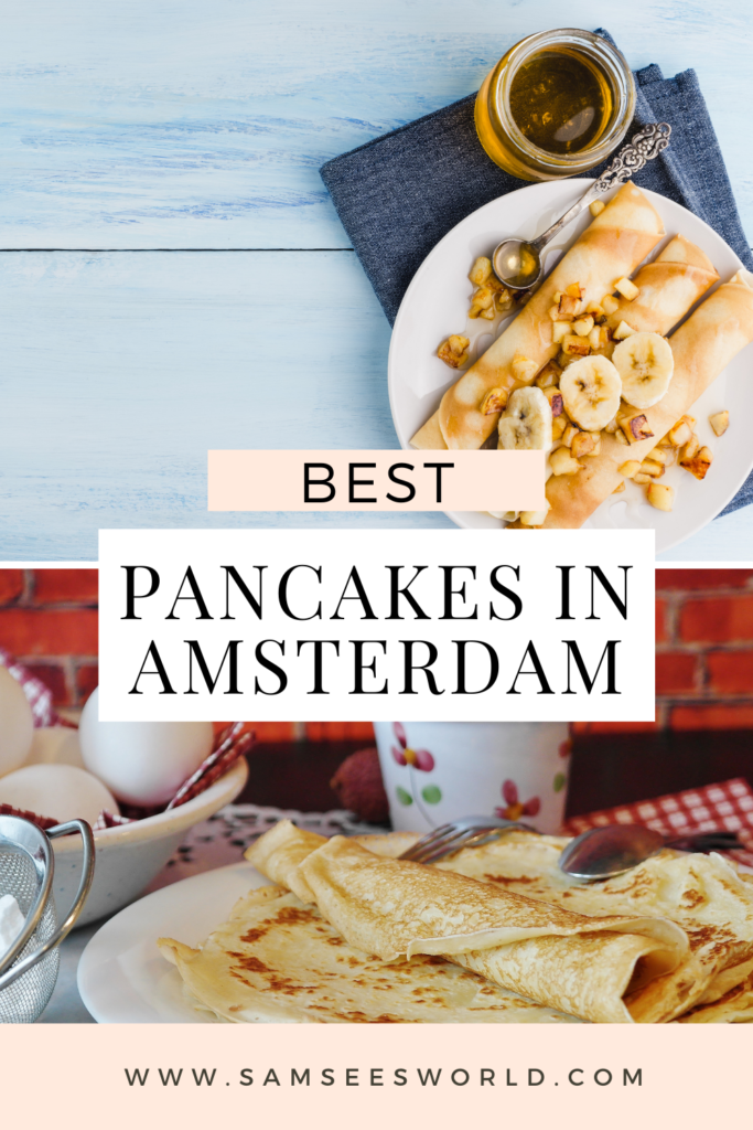 Best pancakes in Amsterdam pin