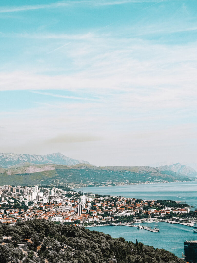 View of Split from Above