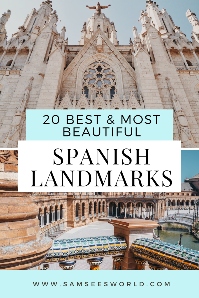 Best Spanish Landmarks pin