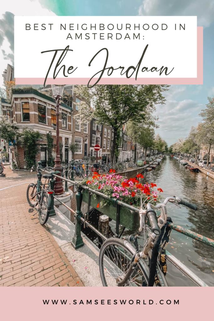 Jordaan Amsterdam pin