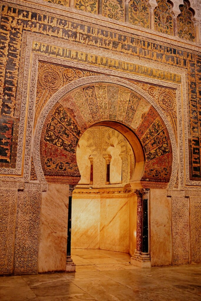 Intricate mosque designs