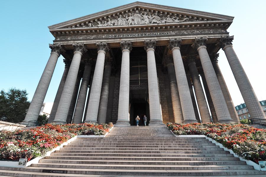 Roman Greek Template looking exterior