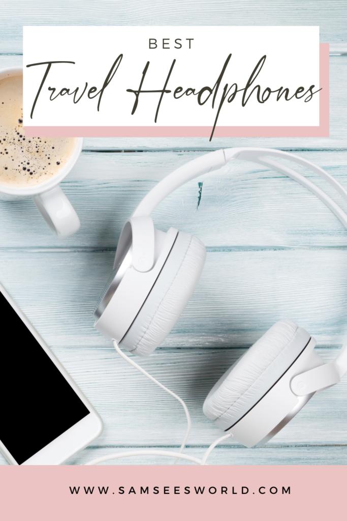 best travel headphones pin