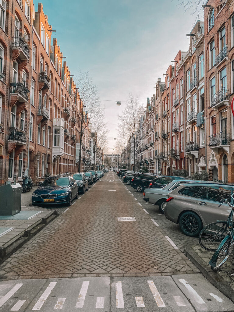 Oud West Amsterdam street