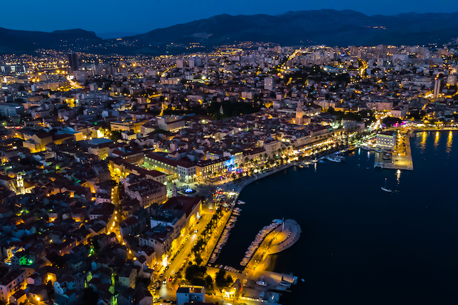 Split at night