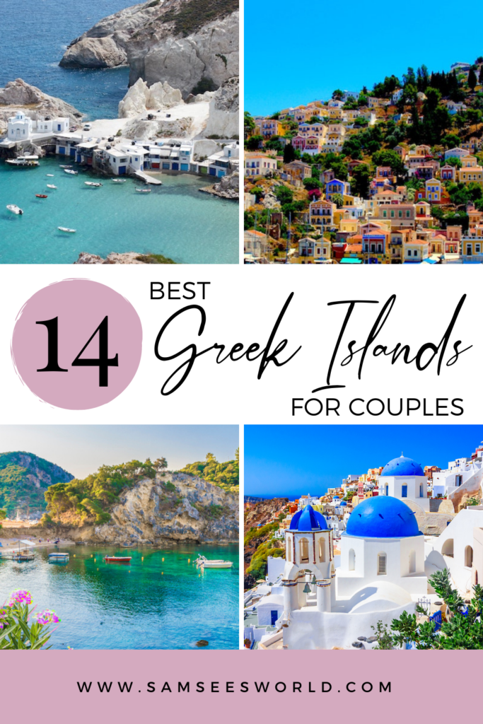 Best Greek Islands for Couples pin