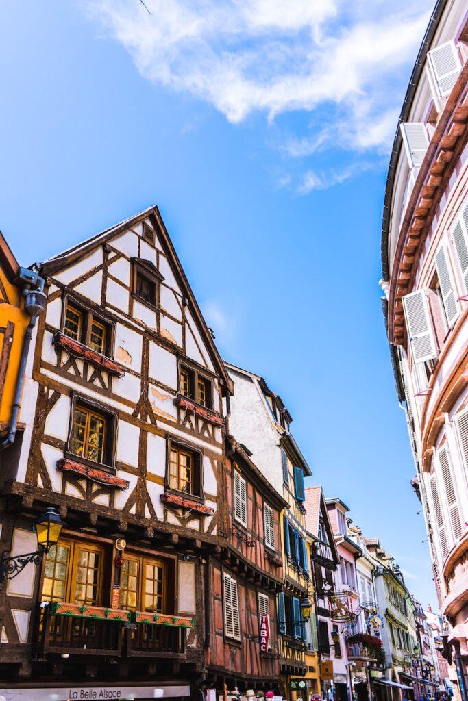 half-timber medieval buildings
