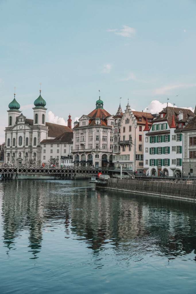 Jesuit Church along the water