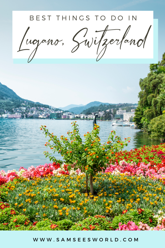 Top Things to do in Lugano pin