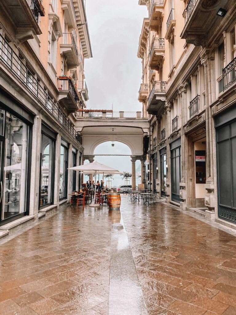 Street in Lugano