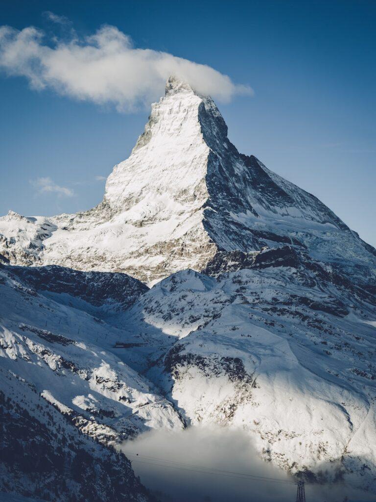 Matterhorn mountain peak