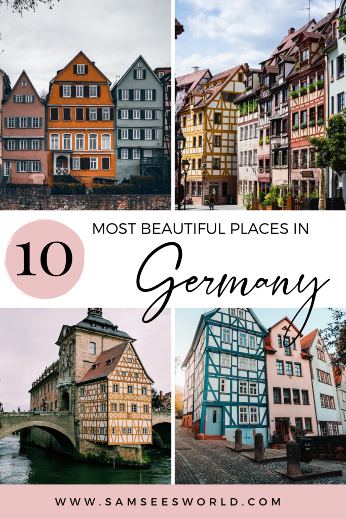 10 Most Beautiful cities in Germany pin