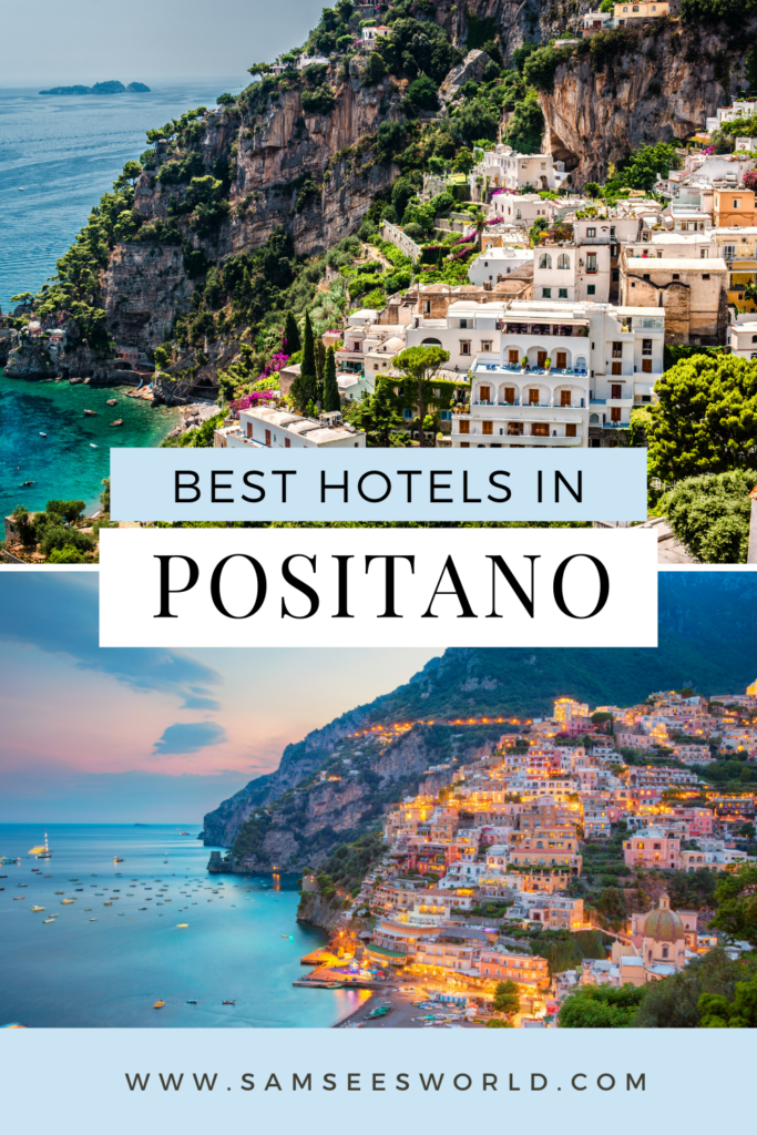Best Hotels in Positano pin