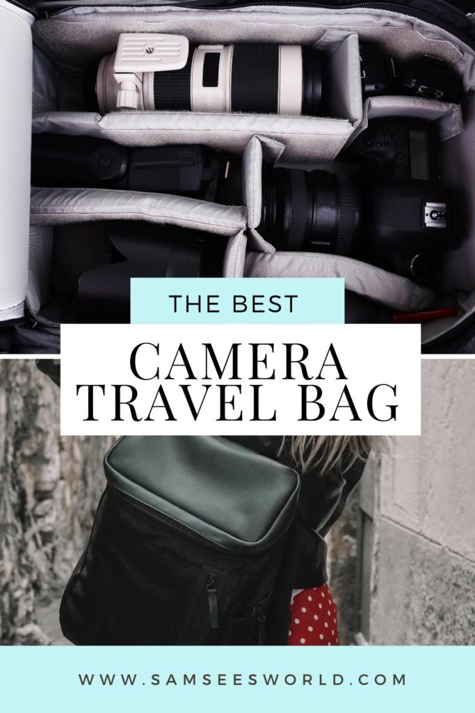Best Travel Camera Bag pin