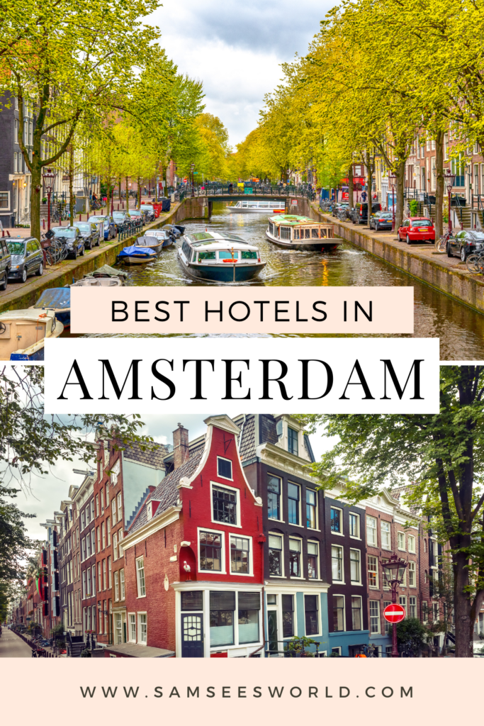 Best Hotels in Amsterdam pin
