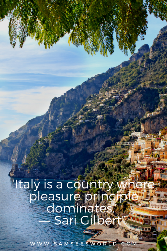 Italy Quotes pin