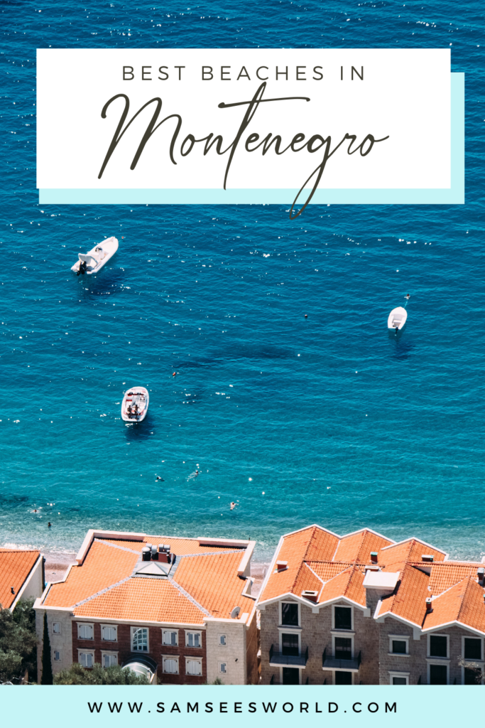 View of the Kotor bay, overlooking one of the most beautiful Montenegro beaches.