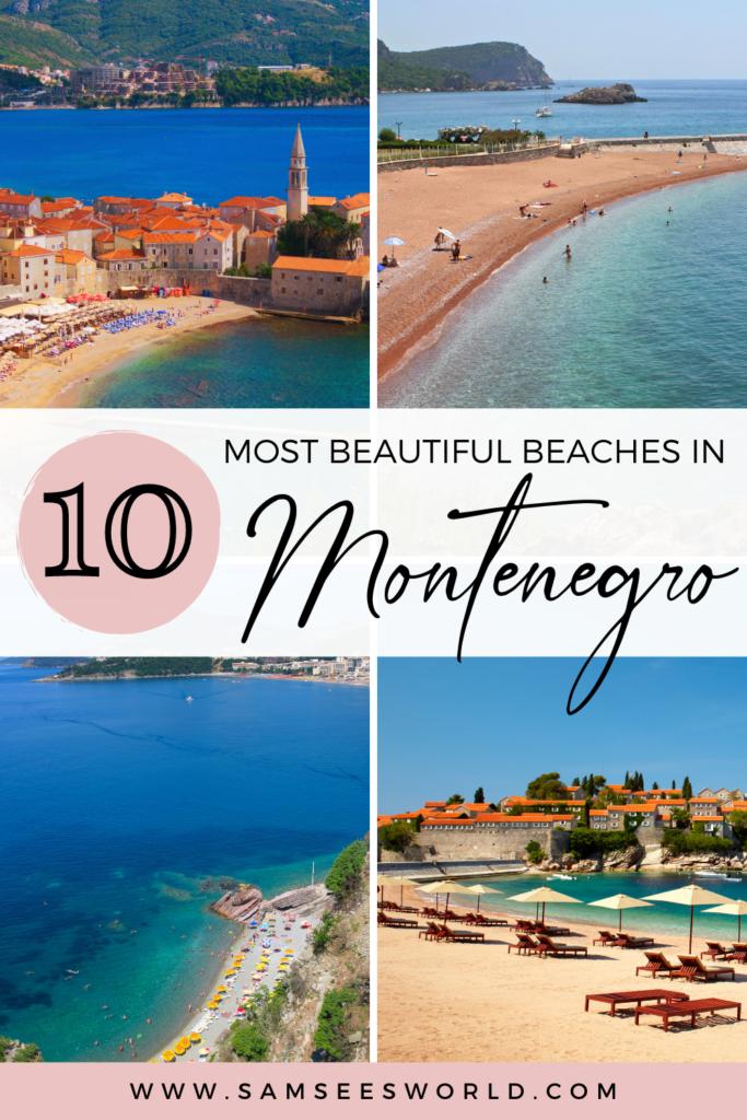 10 most beautiful Montenegro Beaches
