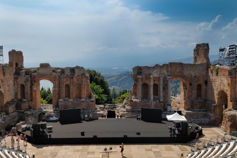 Teatro Antico di Taormina, Sicily