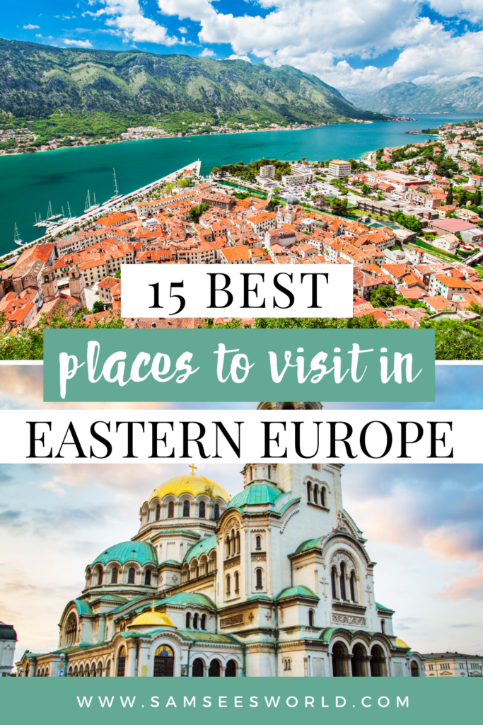 best cities in Eastern Europe pin