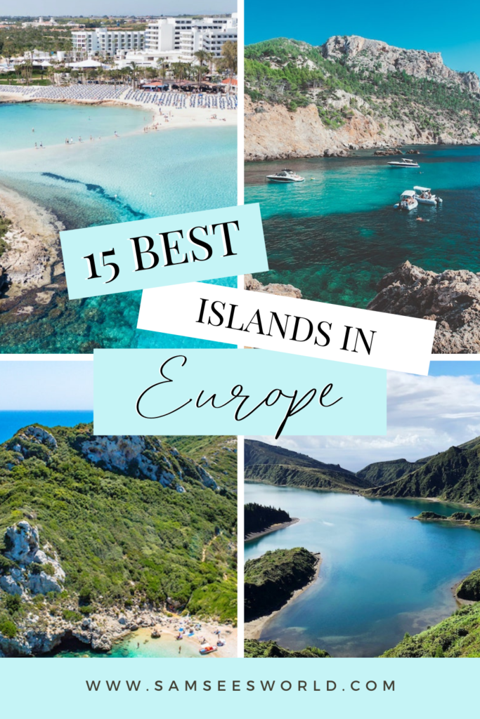 15 Best Islands in Europe pin