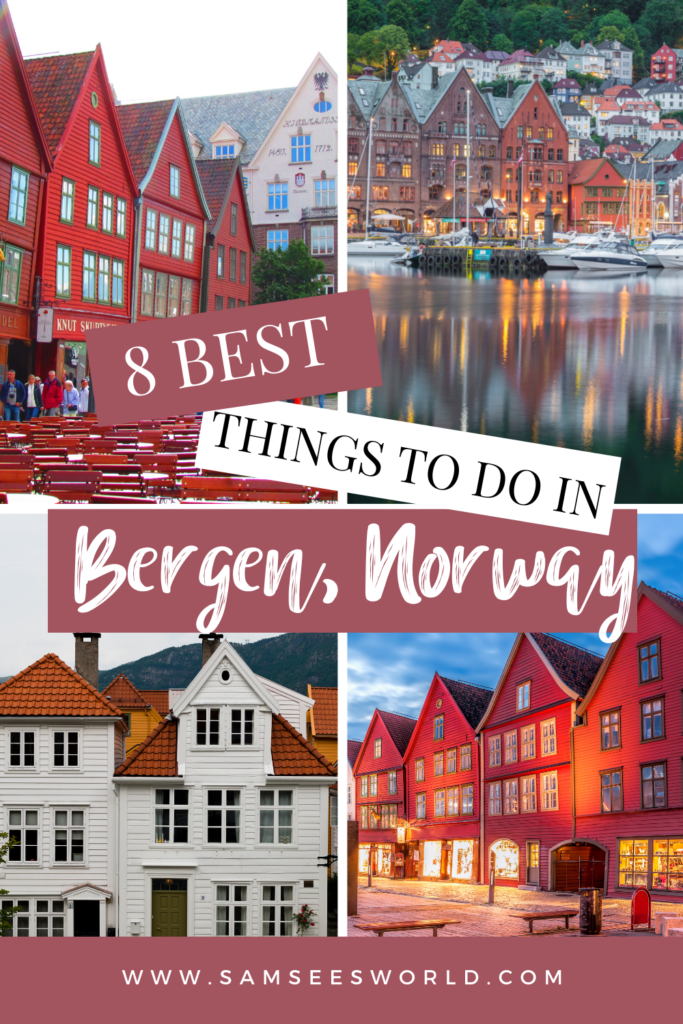 8 Things to do in Bergen pin
