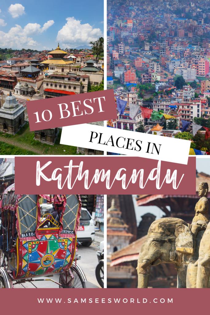 Best Places to Visit in Kathmandu pin