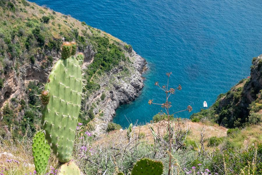 fjord of Crapolla on Amalfi Coast, Torca, Massa Lubrense, Naples, Italy