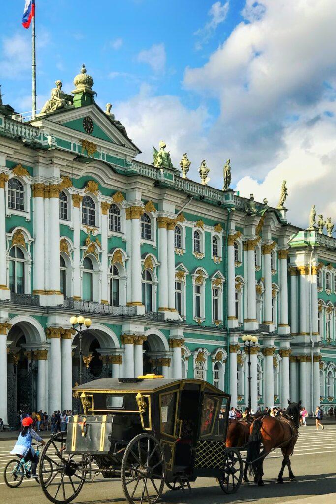 Building in St. Petersburg
